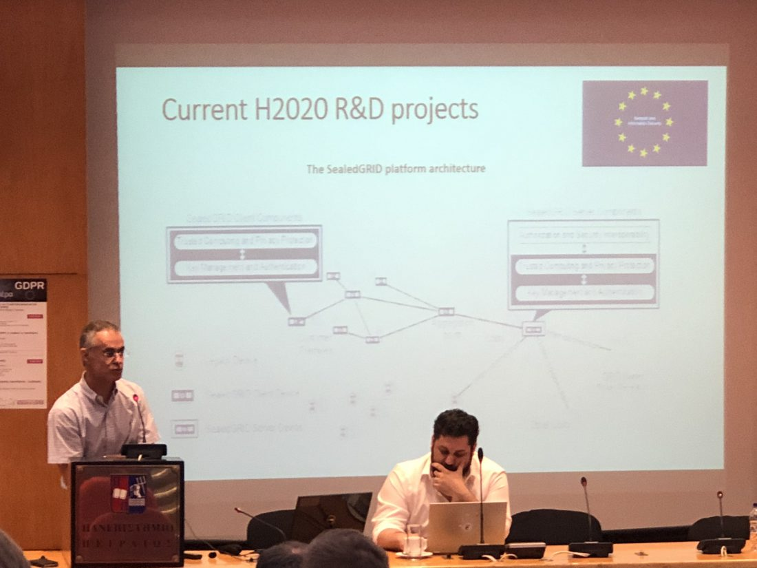 SealedGRID and GDPR presentation