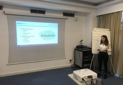 Presentation of SealedGRID and its results to the H2020 project Clustering Workshop in Athens